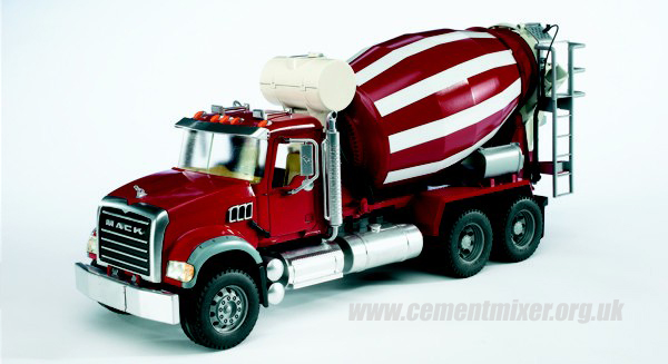 Mixer Truck Toy : Cement mixer toy